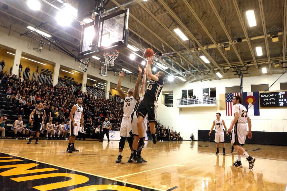 Student Athletes playing Basketball